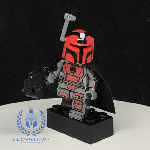 Rav Bralor (Red) Custom Printed Minifigure