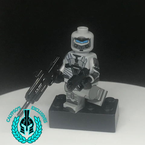 Spartan Locke Custom Exclusive Printed Minifigure