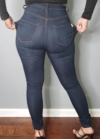 Rebellious High Waist Jeans