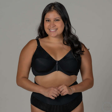 Opal | FlexyWire Bra -Black