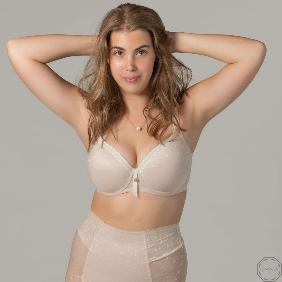 Pearl | T-Shirt FlexyWire Bra - Cream