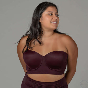 Quartz | 5-Way Flexywire Bra - Plum