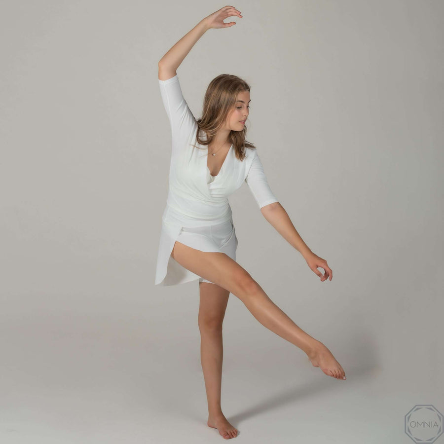 QUARTZ Wrap Ballet Top