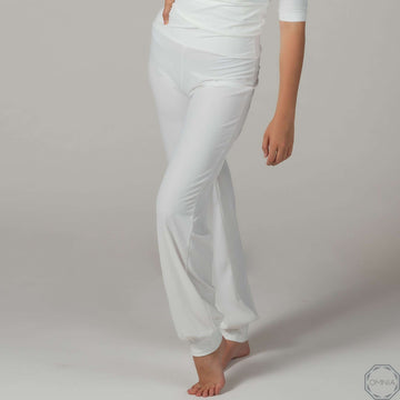 Quartz | High Waist Pant - Cream