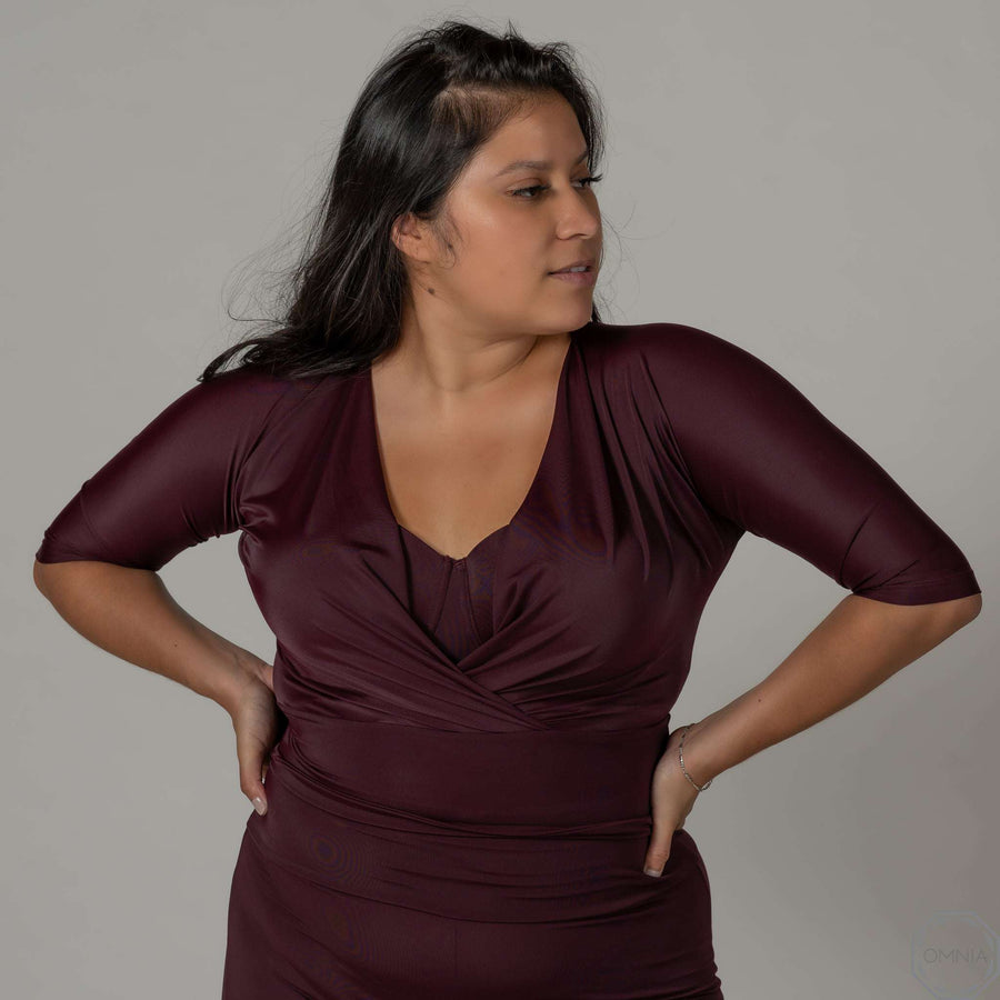 Quartz | Ballet Top - Plum