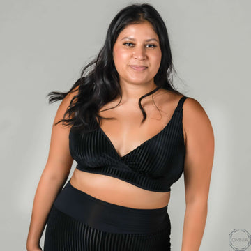Opal | Everyday Wirefree Bra - Black