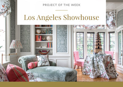 Project of the week - A Los Angeles Showhouse
