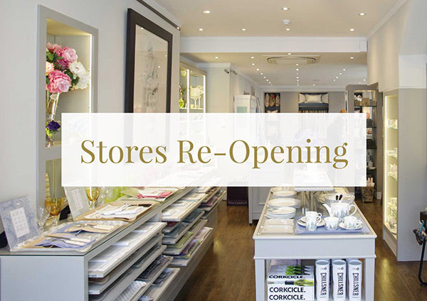 Stores Re-Opening