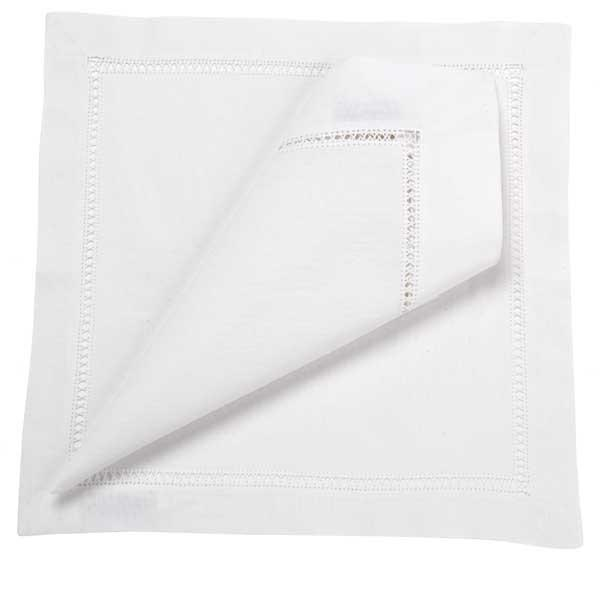 Hemstitch Placemat - White