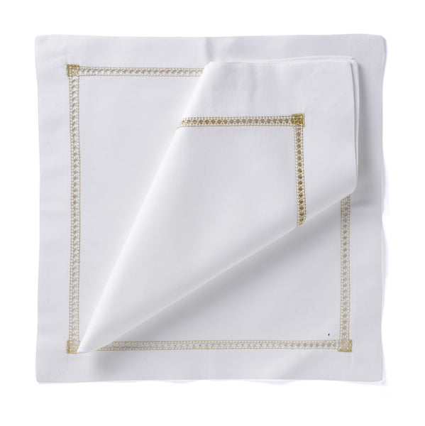 Hemstitch Placemat - Gold