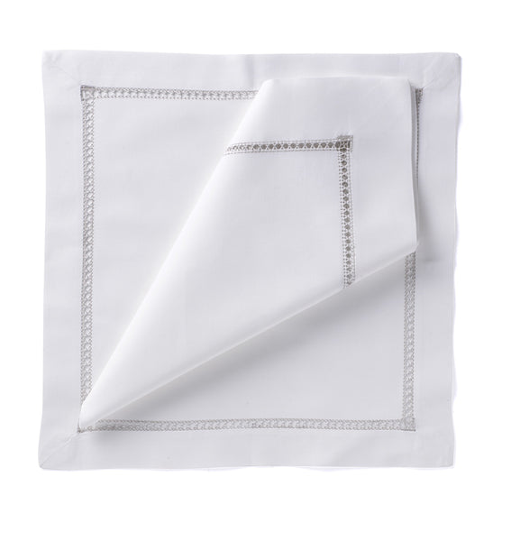 Hemstitch Placemat - Silver
