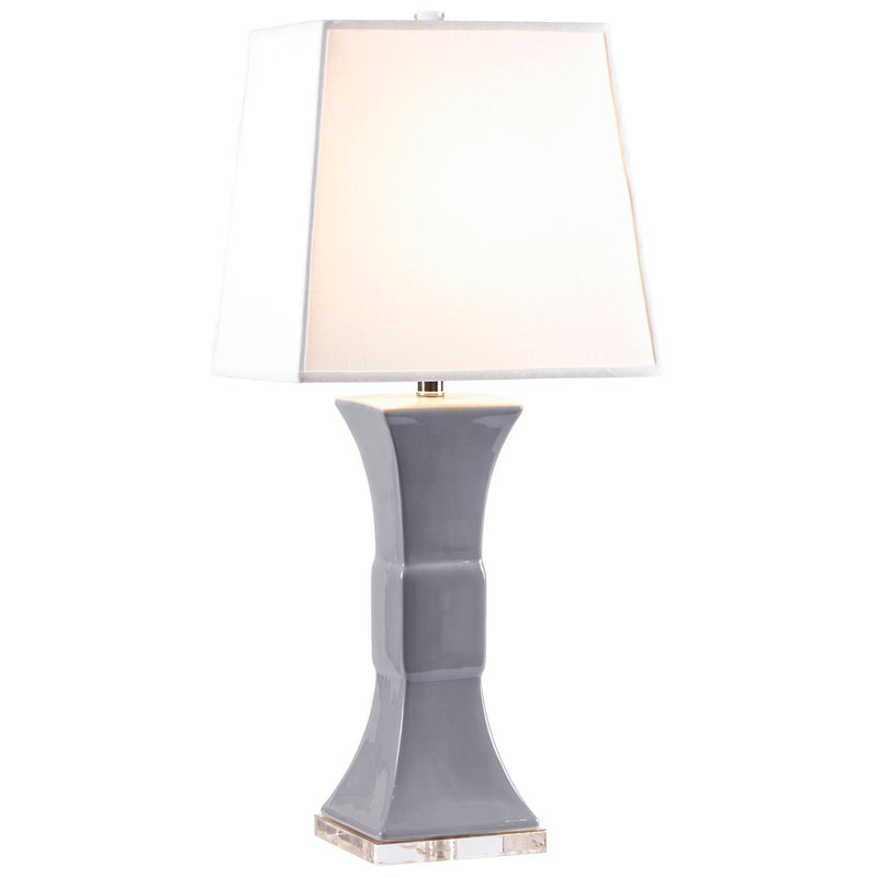 Parker Lamp - Dove Grey