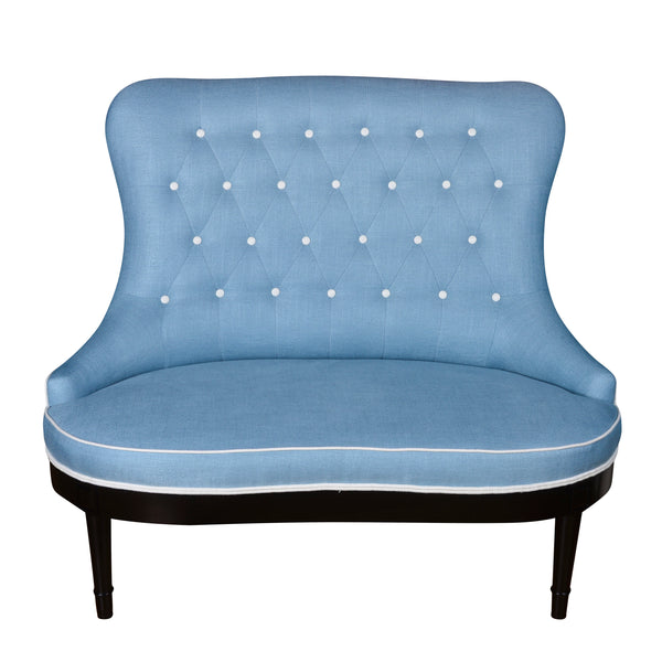 Ava Love Seat - Com - showroom stock
