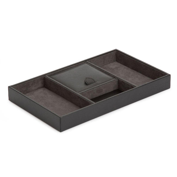 Blake Valet Tray - Black/Grey