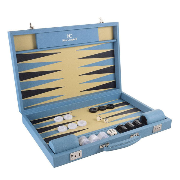 Challenge Backgammon Board Sky/Dauphine