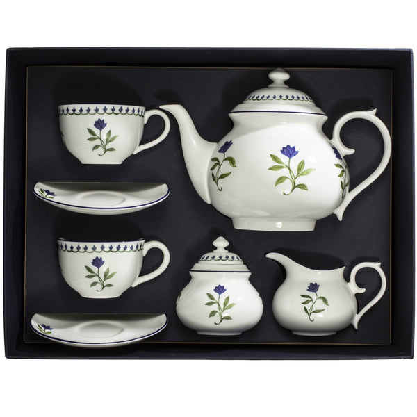 Marguerite Tea Set for 2