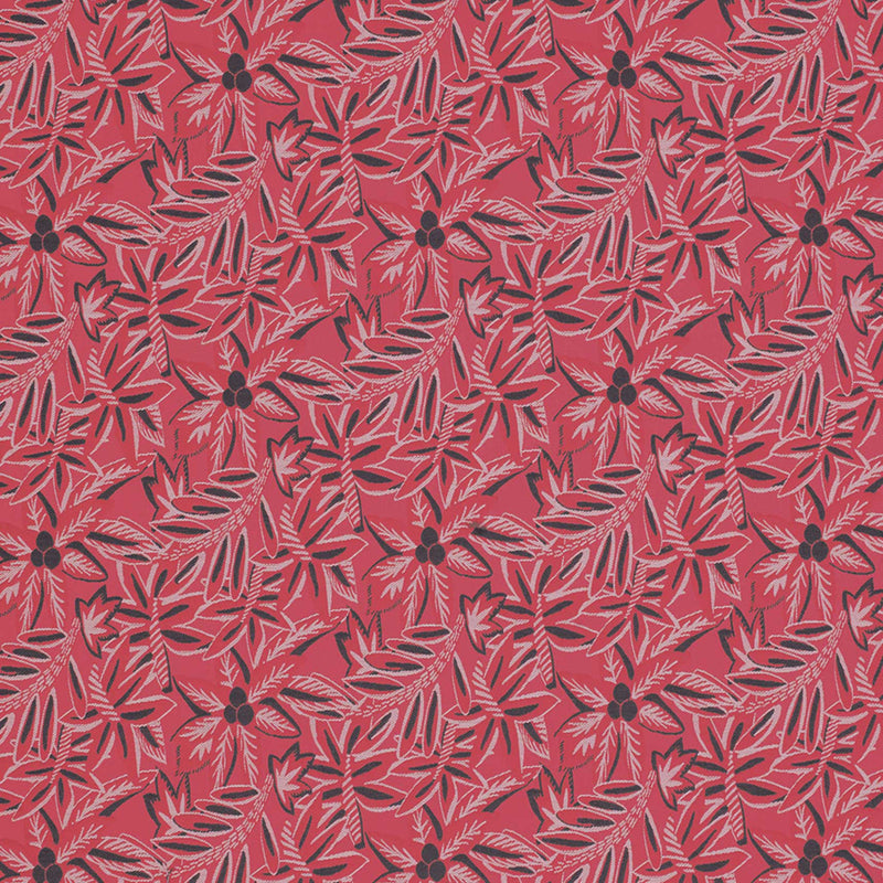 Claribel Loulou Red Fabric - NCF4283-01