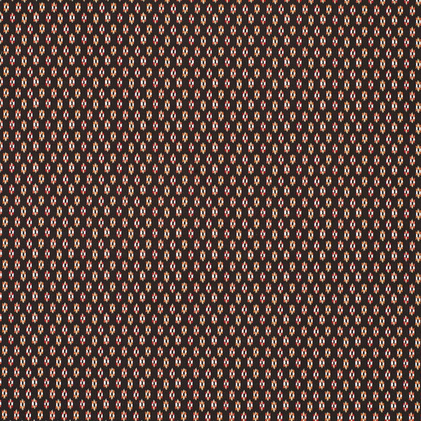 Claribel Biron Chocolate/Red/Amber Fabric - NCF4284-01