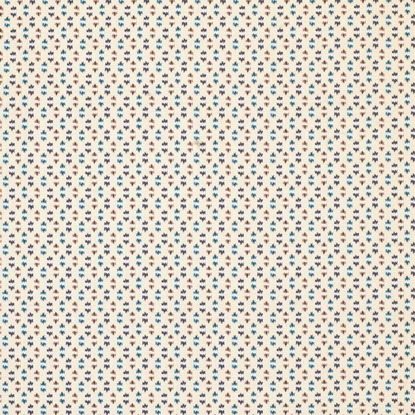 Claribel Biron Ivory/Blue/Beige Fabric - NCF4284-04