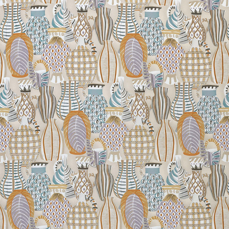 Les Rêves Collioure Taupe/Soft Gold Fabric - NCF4290-03