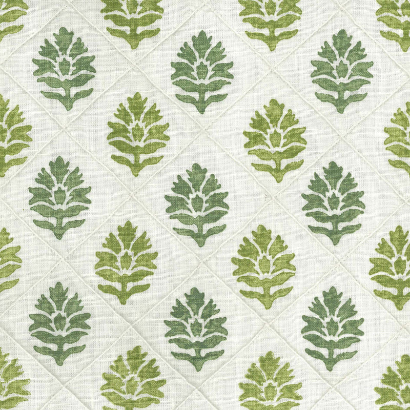 Les Rêves Camille Green Fabric - NCF4292-03