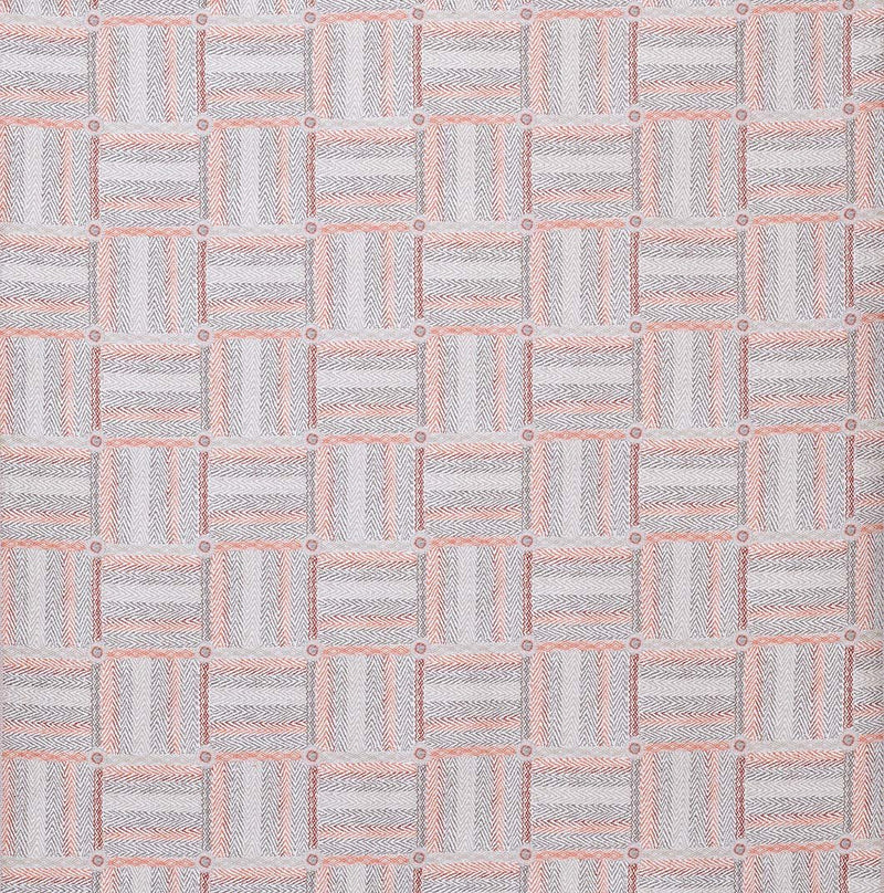 Rivoli Jossigny Red/Coral/Grey Fabric - NCF4323-01