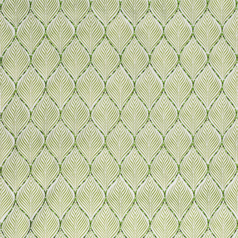 Les Indiennes Bonnelles Green Fabric - NCF4335-04