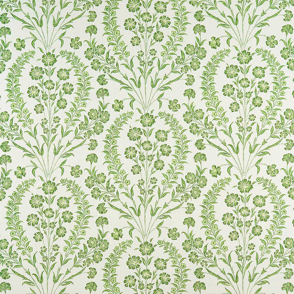 Ashdown Chelwood Green/Ivory Fabric - NCF4364-02