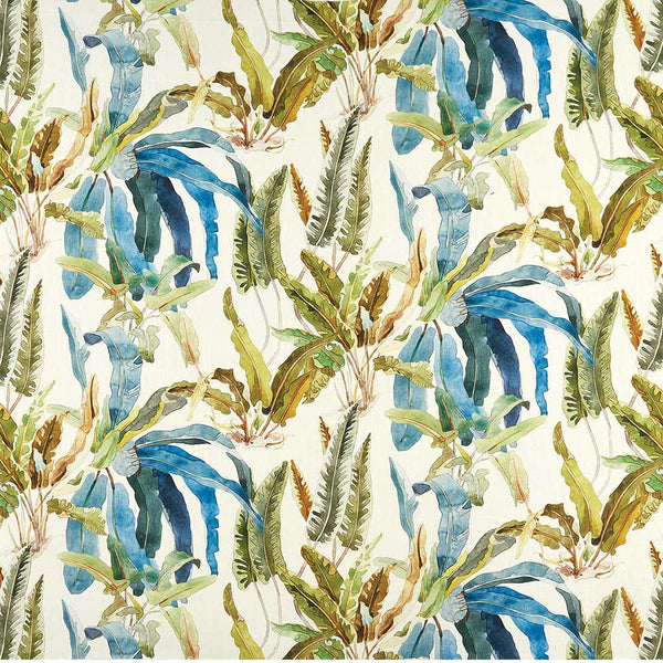 Ashdown Benmore. Turquoise/Olive Fabric - NCF4365-01