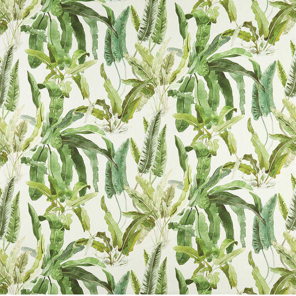 Ashdown Benmore Green/Ivory Fabric - NCF4365-02