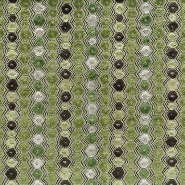 Marchmain Flyte Green/Chocolate Fabric - NCF4371-04