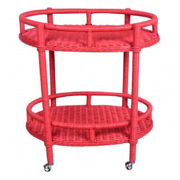 Oval Bar Cart - Watermelon