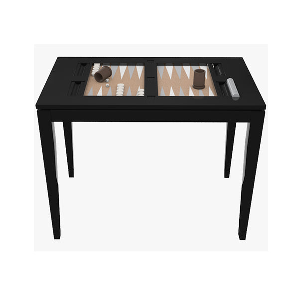 Backgammon Table Black - showroom stock