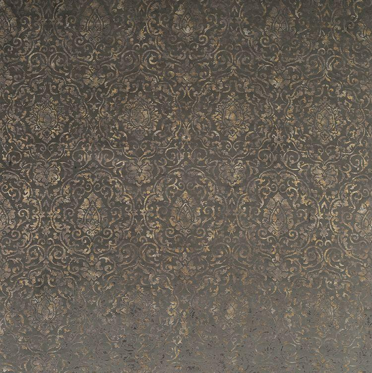 Bargello Velvets Belem Chocolate Fabric - NCF4212-02