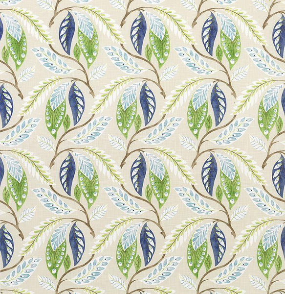 Fontibre Blue/Green Fabric - NCF4195-03