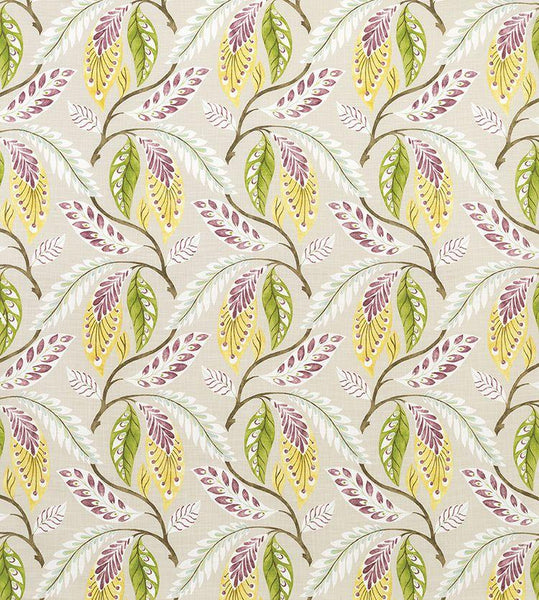 Fontibre Amethyst/Green/Yellow Fabric - NCF4195-05