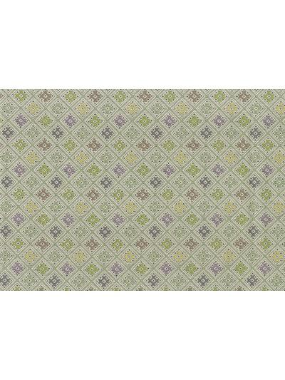 Jacquet Green/Lilac Fabric - NCF4224-03