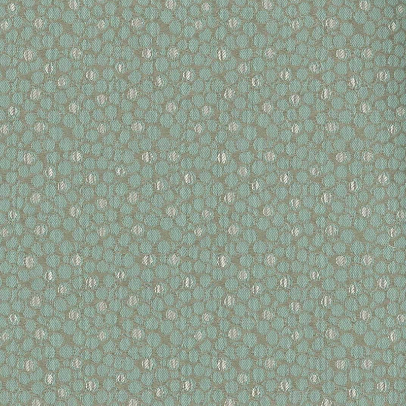 Woodsford Kirkham Aqua Fabric - NCF4081-01