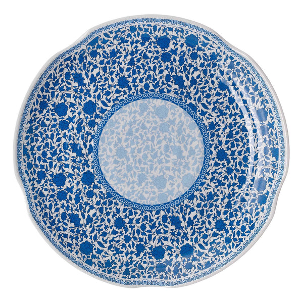Melamine Heritage Serving Platter - Blue