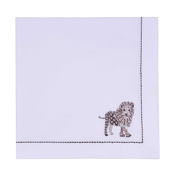 Safari Napin - Lion Napkin