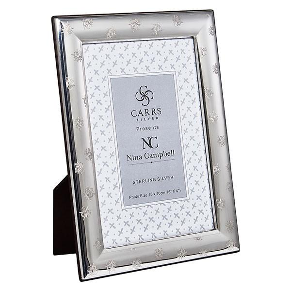 NC Bee Engraved Black Frame 6x4