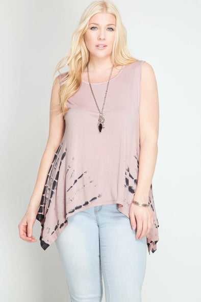 Dusty Pink Top PLUS