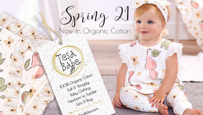 Announcing New Spring Line with Organic Cotton!