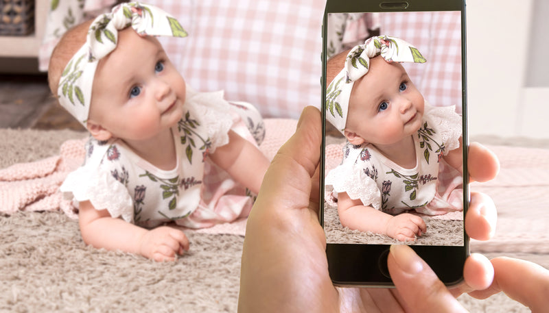 Lights, camera, action! How to take professional home photos of your baby