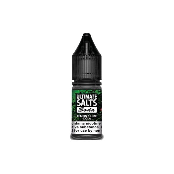 10MG Ultimate Puff Salts Soda 10ML Flavoured Nic Salts (50VG/50PG)