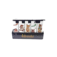 4Smoke Wind-Proof Printed Lighters 50 Pack - FV10