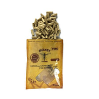 7mm Brown Hornet Natural Unrefined Pre-Rolled Rolling Tips