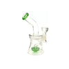 3 x 7'' Fat Base Glass Bong - WP-62