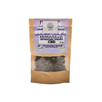 Wedding Cake 300mg CBD Infused Marhmallow Herb Tea 3.5g