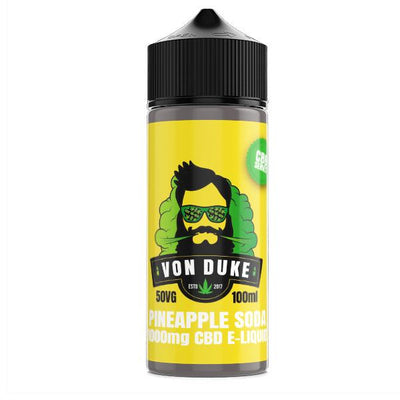 Von Duke 1000mg CBD Vaping Liquid 100ml (70PG/30VG)